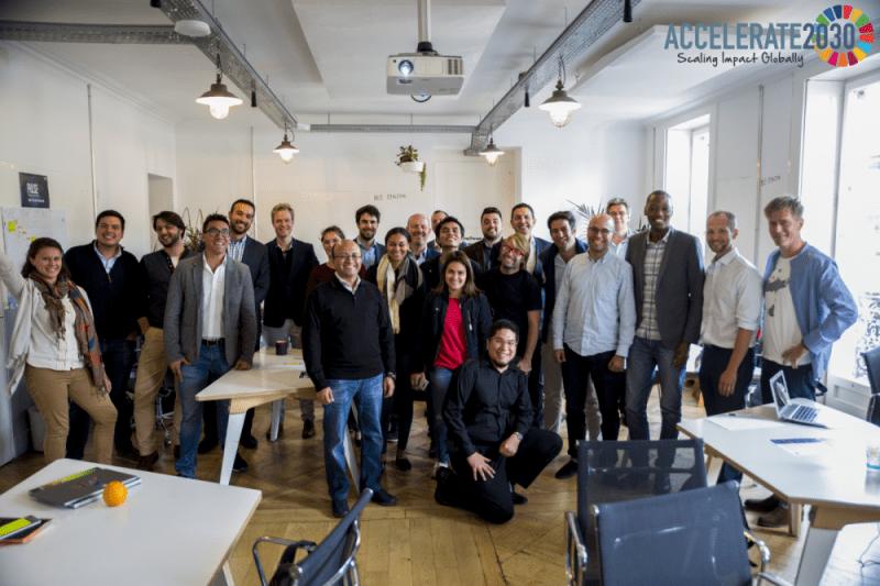 Accelerate2030 Entrepreneurs of 2017