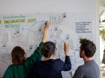 participants of a CE Incubator 2019 workshop